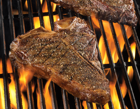 how to cook t bone on grill